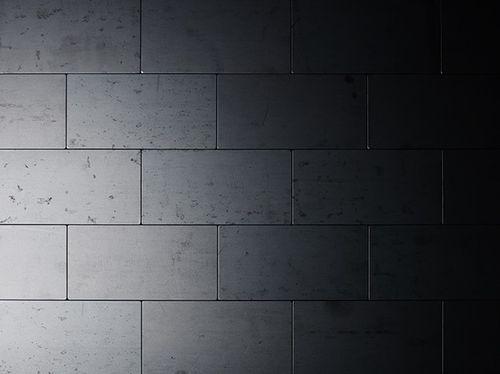 Mozaïektegels massief metaal gewalst ruw staal grijs 1,6 mm dik ALLOY Subway-RS – Bild 5