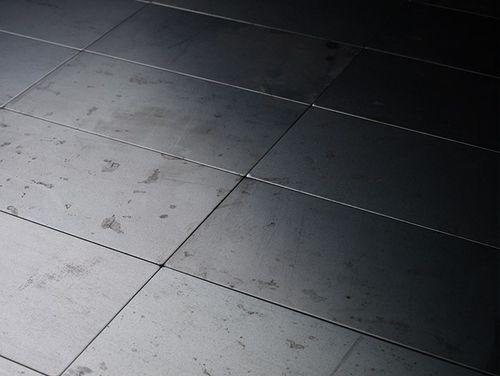 Mozaïektegels massief metaal gewalst ruw staal grijs 1,6 mm dik ALLOY Subway-RS – Bild 6