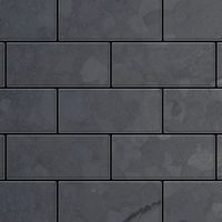 Metal Mosaic Tile Raw Steel mill grey 1,6mm Subway-RS