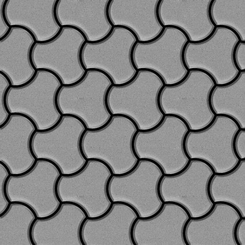 Mosaïque métal massif Carrelage Acier inoxydable matt gris Grosseur 1,6mm ALLOY Ubiquity-S-S-MA dessiné par Karim Rashid0,75 m2 – Bild 1