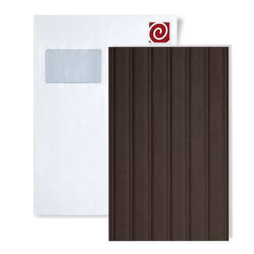 1 MUSTERSTÜCK S-18603-SA WallFace LOUNGE MOCCA Leather Collection | Wandverkleidung MUSTER in ca. DIN A4 Größe – Bild 1