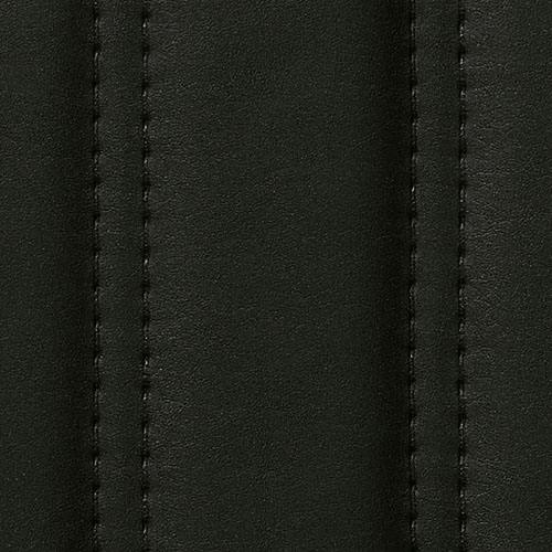 1 MUSTERSTÜCK S-18604-SA WallFace LOUNGE NERO Leather Collection | Wandpaneel MUSTER in ca. DIN A4 Größe – Bild 3