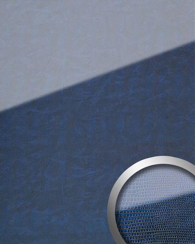 Pannello murale autoadesivo ottica vetro WallFace 16984 LEGUAN blu scuro 2,60 mq – Bild 1