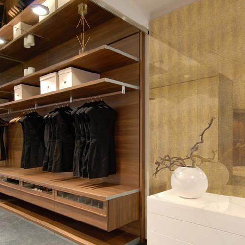 Wandpaneel glas-optiek de luxe decor zelfklevend WallFace16973 LEGUAN wandbekleding goud bruin 2,60 m2 – Bild 2