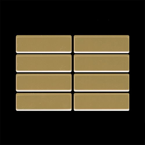 Mosaik MUSTER S-Cabin-Ti-GM | Kollektion Cabin Titan Gold hochglänzend – Bild 4