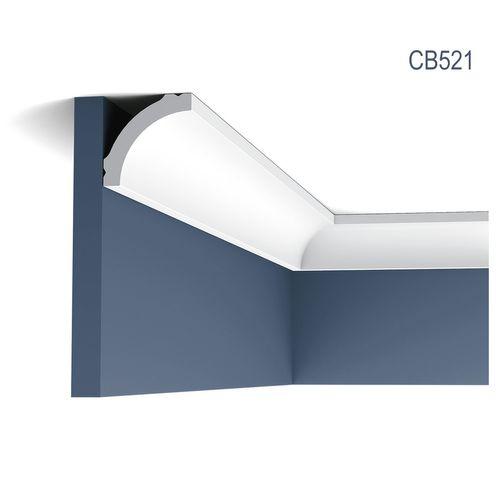 Eckleiste Stuck Orac Decor CB521 BASIXX Zierleiste Stuckleiste Stuckprofil Stuck Dekor Wand Leiste Decken Leiste 2 Meter – Bild 1