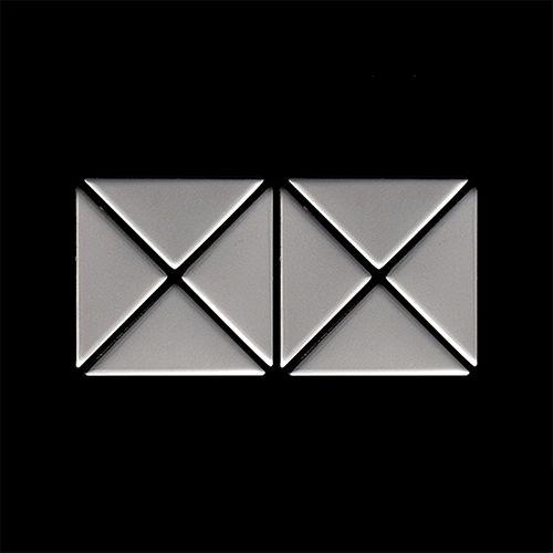 Mosaik MUSTER S-Deco-S-S-MA | Kollektion Deco Edelstahl matt – Bild 4