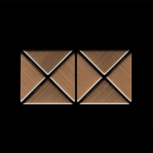 MUESTRA Mosaico S-Deco-Ti-AB | Colección Deco Titanio Amber cepillado – Imagen 4