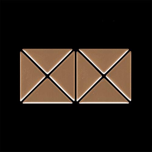 Mosaik MUSTER S-Deco-Ti-AM | Kollektion Deco Titan Amber hochglänzend – Bild 4