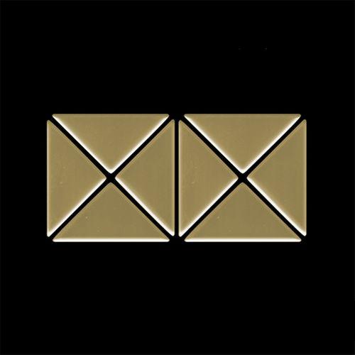 MUESTRA Mosaico S-Deco-Ti-GM | Colección Deco Titanio Gold pulido espejo – Imagen 4