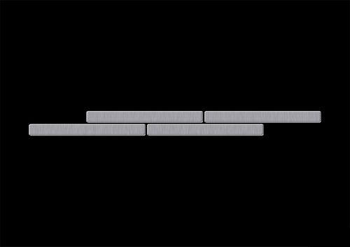 ITEM SAMPLE Mosaic S-Deedee-S-S-B | Deedee Stainless Steel brushed – Bild 4