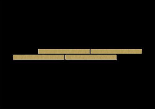 Mosaik MUSTER S-Deedee-Ti-GB | Kollektion Deedee Titan Gold gebürstet – Bild 4