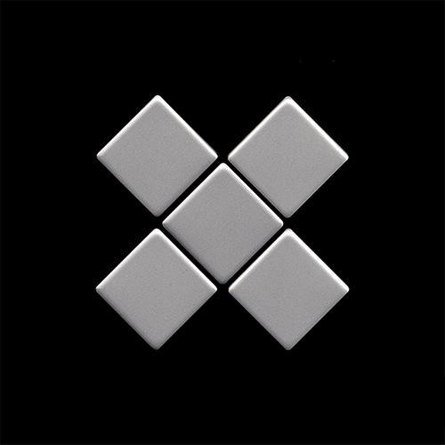 Mosaïque ÉCHANTILLON S-Diamond-S-S-MA | Collection Diamond acier inoxydable matt – Bild 4
