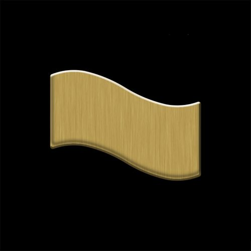 CAMPIONE di mosaico S-Flux-Ti-GB | Flux Titanio spazzolato Gold – Bild 4