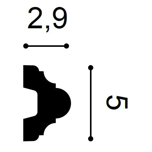 Wandleiste P4020 2m – Bild 2