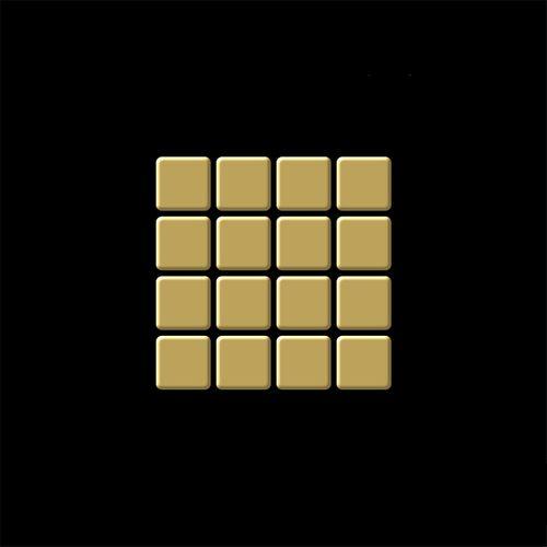 Mosaïque ÉCHANTILLON S-Glomesh-Ti-GM   Collection Glomesh Titane Gold miroir – Bild 4