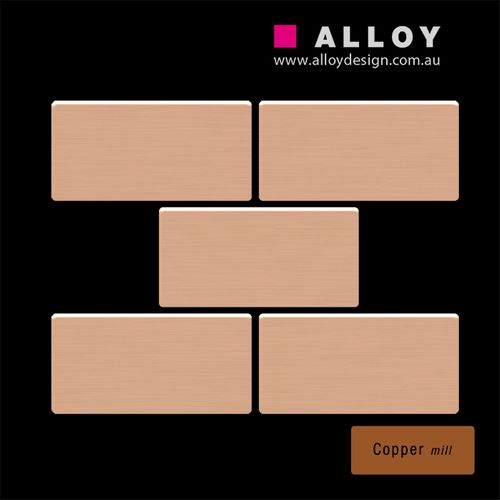 ITEM SAMPLE Mosaic S-House-CM | House Copper mill – Bild 3