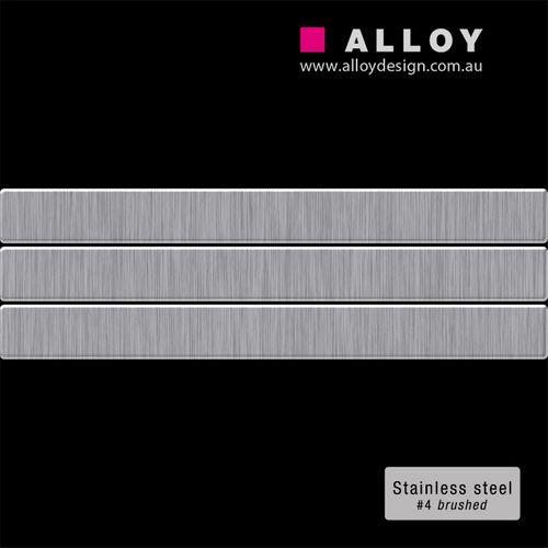 Mosaïque ÉCHANTILLON S-Linear-S-S-B | Collection Linear acier inoxydable brossé – Bild 2