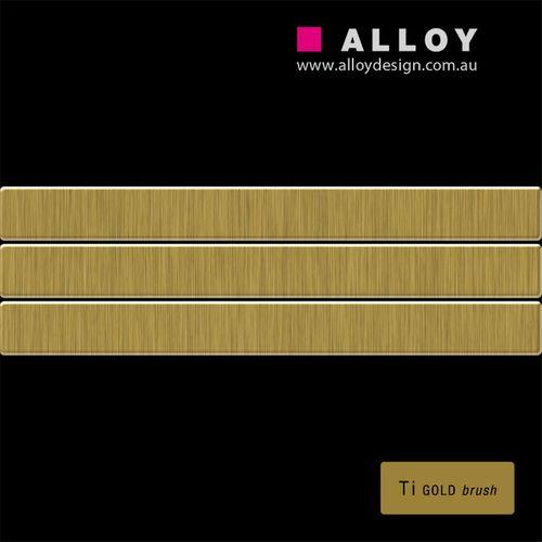 CAMPIONE di mosaico S-Linear-Ti-GB | Linear Titanio spazzolato Gold – Bild 2