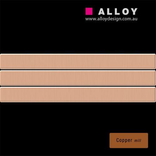 Mosaïque ÉCHANTILLON S-Linear-CM | Collection Linear cuivre  – Bild 2