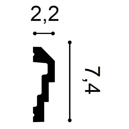 Flexible Wandleiste P7070F FLEX 2m – Bild 2