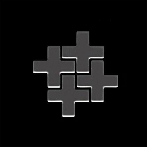Mosaik MUSTER S-Swiss Cross-Ti-SM | Kollektion Swiss Cross Titan Smoke hochglänzend – Bild 4