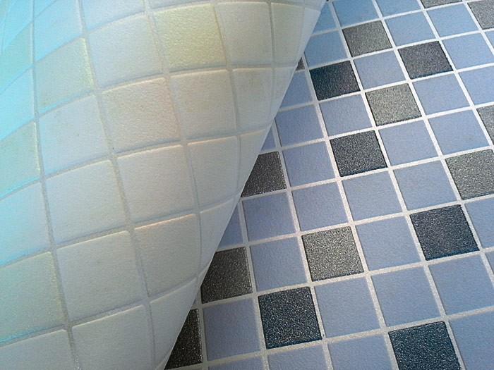 Behang design tegel mozaïek EDEM 1022-11 structuur vinylbehang ...
