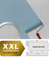 Wallcovering non-woven wallpaper wall EDEM 354-60 paintable XXL deco textured white  001