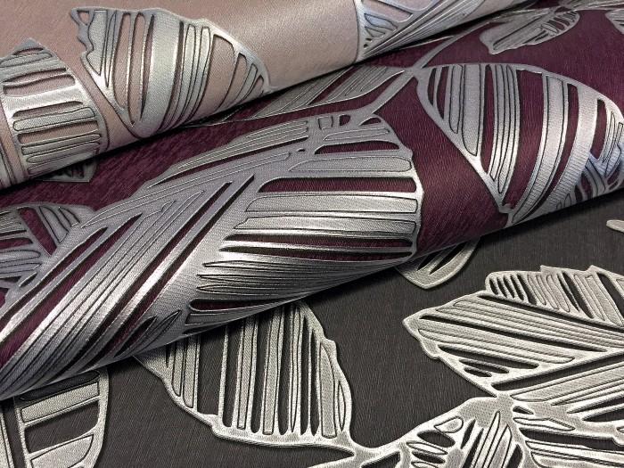 blumen tapete xxl vliestapete edem 923 39 elegantes florales design muster metallic effekt grau. Black Bedroom Furniture Sets. Home Design Ideas
