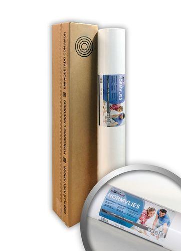 NORMVLIES 150 g Renoviervlies Glattvlies Malervlies glatte überstreichbare Vliestapete weiß | 18,75 m2 25 Meter Rolle – Bild 1