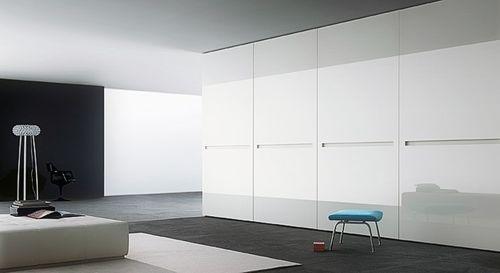 Pannello murale aspetto vetro WallFace 17941 UNI ICE WHITE Rivestimento murale autoadesivo bianco 2,60 mq – Bild 2