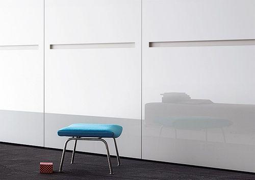 Wandpaneel Glas-Optik WallFace 17941 UNI ICE WHITE Wandverkleidung selbstklebend weiß 2,60 qm – Bild 3