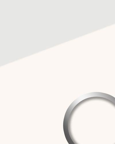 Wandpaneel Glas-Optik WallFace 17941 UNI ICE WHITE Wandverkleidung selbstklebend weiß 2,60 qm – Bild 1