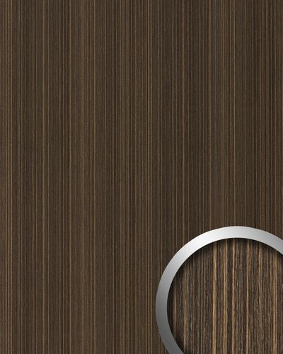 Wall Panel self-adhesive Wood look WallFace 19027 WENGE WOOD Luxury panel natural wood look and feel dark brown 2,60 m2 – Bild 1