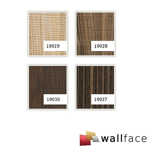 1 PIEZA DE MUESTRA S-19028-SA WallFace NUTWOOD COUNTRY Wood Collection | Muestra panel de pared en tamaño aprox DIN A4 – Imagen 3