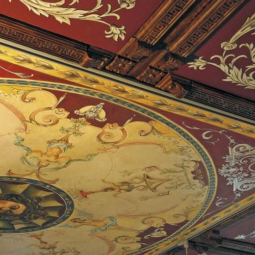 Elemento decorativo Orac Decor P21 LUXXUS angolare quadrato pareti soffitti pattern foglie 6 x 6 cm – Bild 5