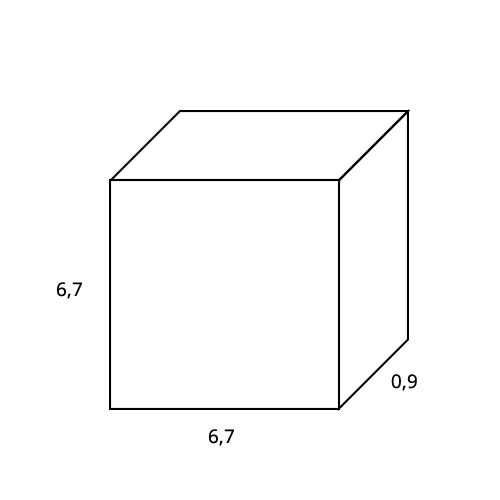 Corner Plate quared Orac Decor P21 LUXXUS Stucco decoration Corner Element element for wall and ceiling Leafs 6 x 6 cm – Bild 2