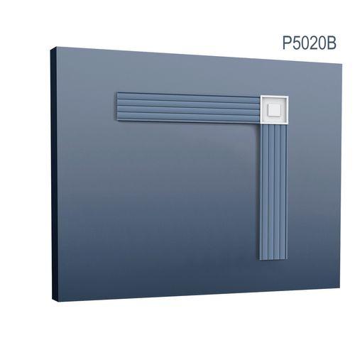 Elemento angolare classico quadrato pareti soffitti 9 x 9 cm Orac Decor P5020B LUXXUS  – Bild 1