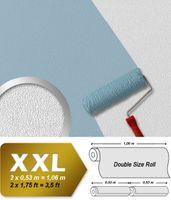 Carta da parati in tessuto non tessuto EDEM 377-60 verniciabile a rilievo effetto stucco 26,50 mq 001