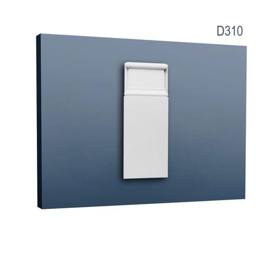 Türumrandung Stuck Orac Decor D310 LUXXUS Sockel Zierelement Profil Wand Dekor Element robust und stoßfest | 25 cm hoch – Bild 1