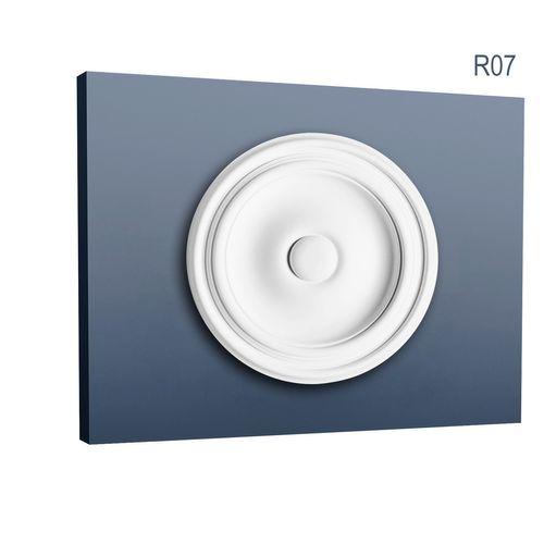Stuckrosette R07 klassisch Durchmesser 26 cm – Bild 1