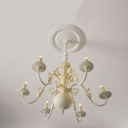 rosette stuck orac decor r08 deckenrosette stuckrosette gesims klassisch sch n ring dekor wei. Black Bedroom Furniture Sets. Home Design Ideas