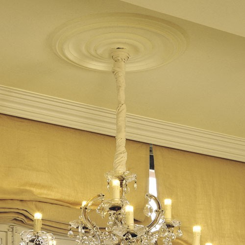 Rozet Origineel Orac Decor R09 LUXXUS plafond decoratie 48 cm diameter – Bild 3