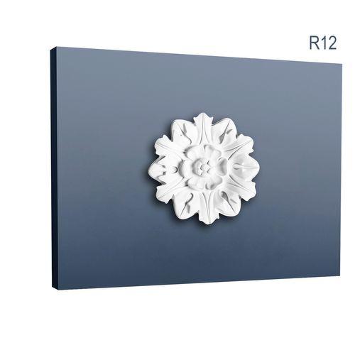 Medaillon R12 Blume-Blätter-Dekor Durchmesser 20 cm – Bild 1