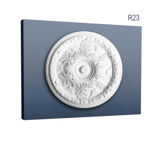 Stuckrosette R23 Dekor Akanthus-Blätter Duschmesser 71 cm – Bild 1