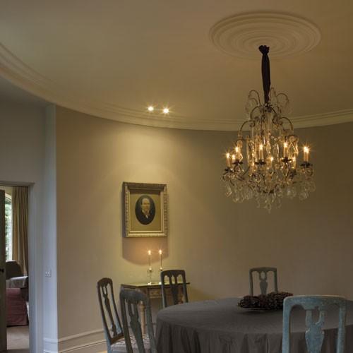 Rosone soffitto parete in poliuretano Orac R40 LUXXUS decorazione per interni d 74,50 cm