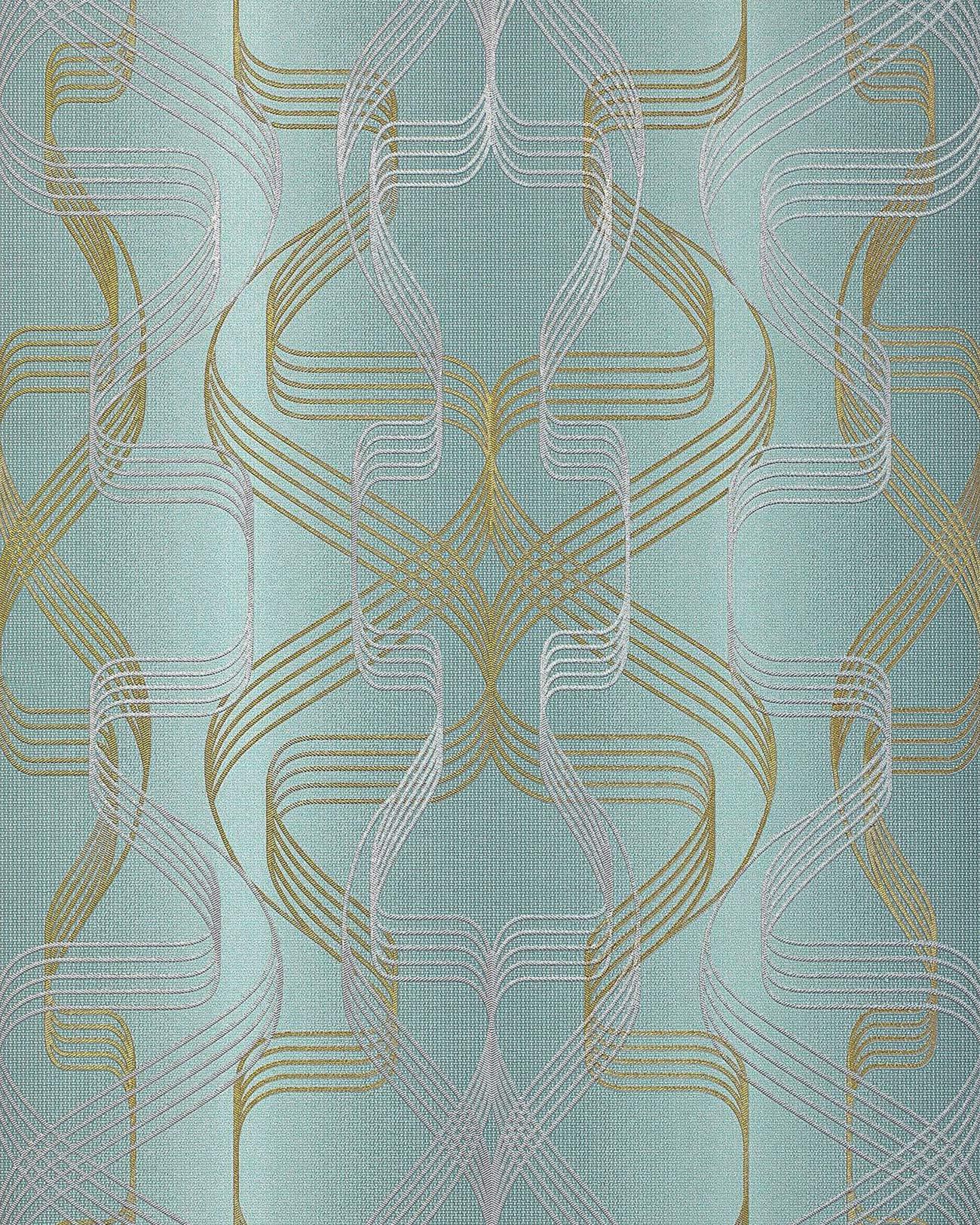 Grafisch behang edem 507 25 opgeschuimd vinylbehang gestructureerd met abstract patroon en - Grafisch behang ...