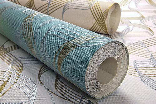 Grafik-Tapete EDEM 507-26 Designer Tapete strukturiert mit abstraktem Muster und metallischen Akzenten basalt-grau perl-gold silber 5,33 m2 – Bild 6