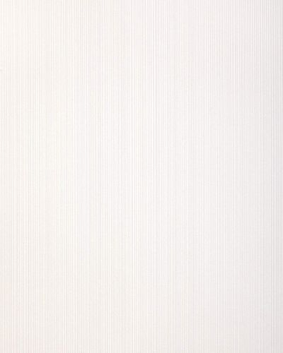 Stripes wallpaper wall covering EDEM 557-10 blown vinyl wallcovering textured fabric look matt white pure-white gray-white 5.33 m2 (57 ft2) – Bild 1
