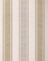 Stripes wallpaper wall covering EDEM 508-20 blown vinyl wallcovering textured fabric look and metallic highlights cream light-ivory pearl-gold silver 5.33 m2 (57 ft2) 001
